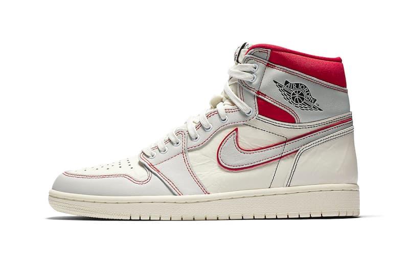 """Air Jordan 1 """"Phantom"""" Available on StockX leather neoprene black university red sail white"""