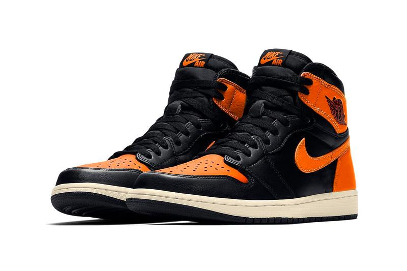 aa44601882b724 Air Jordan 1 Retro High OG Shattered Backboard 3.0 Black Pale Vanilla  Starfish Orange Third Colorway