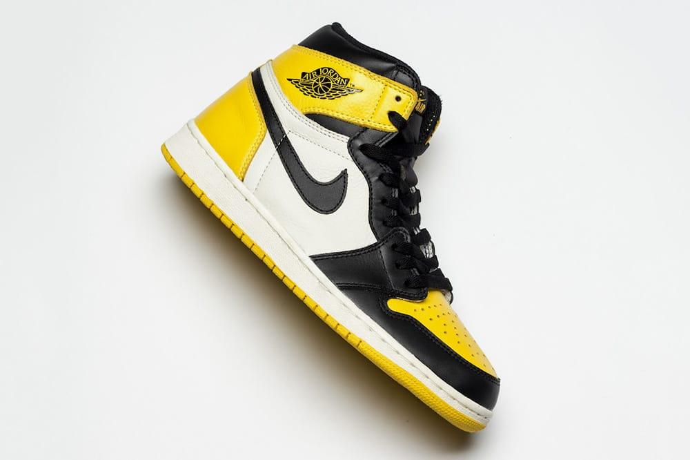air jordan 1 og yellow