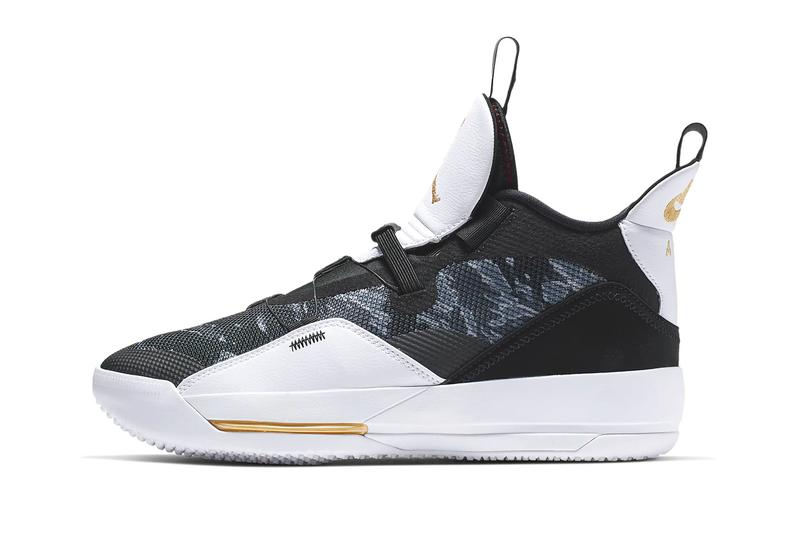 65fa023b3014 Air Jordan 33 Tiger-Stripe Camo Release Info nike jumpman basketball sneakers  shoes