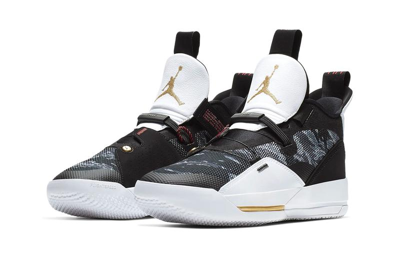 Air Jordan 33 Tiger-Stripe Camo Release Info nike jumpman basketball sneakers shoes