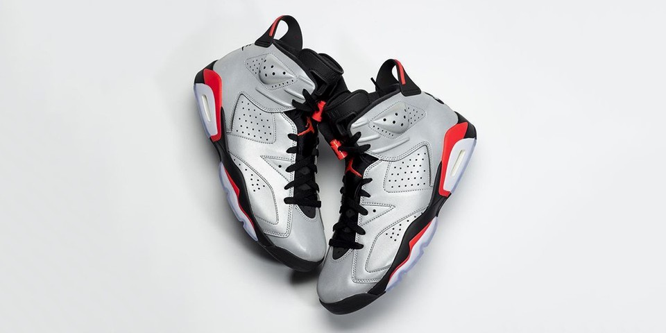 This Air Jordan 6 Jumps Out with Reflective 3M Upper f17e7d4ca
