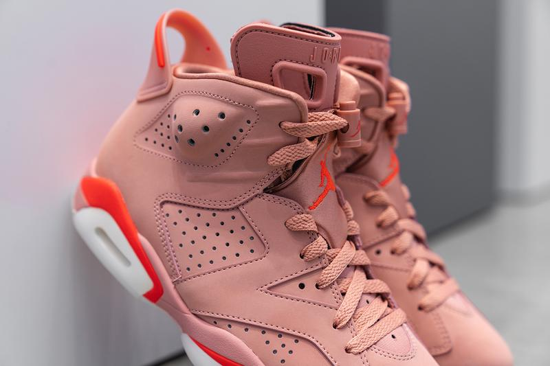 free shipping 0cccd 27294 Aleali May x Air Jordan 6 WMNS Closer Look | HYPEBEAST