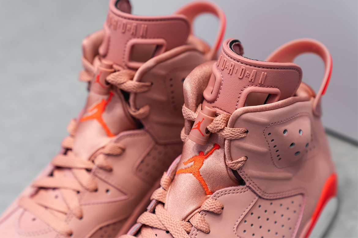 free shipping c698a e46a8 Aleali May x Air Jordan 6 WMNS Closer Look | HYPEBEAST