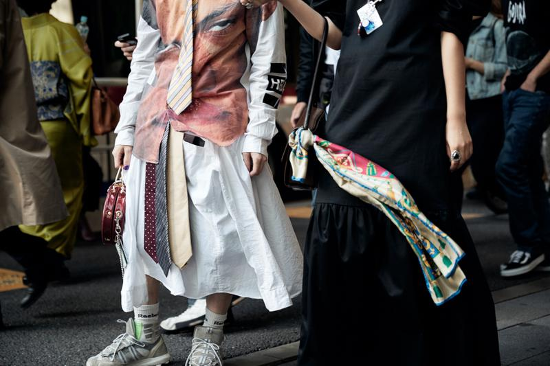 Street Style at Amazon Fashion Week Tokyo FW19 Was Dominated by Style Mashups