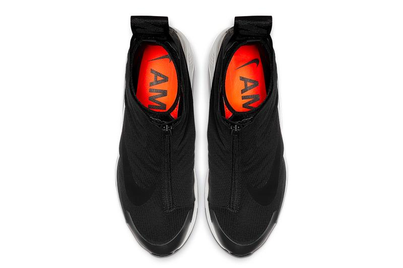 "Ambush x Nike Air Max 180 Official Look ""Black/Black-Pale Grey"" BV0145-001 yoon ambush verbal co-branding orange insole"