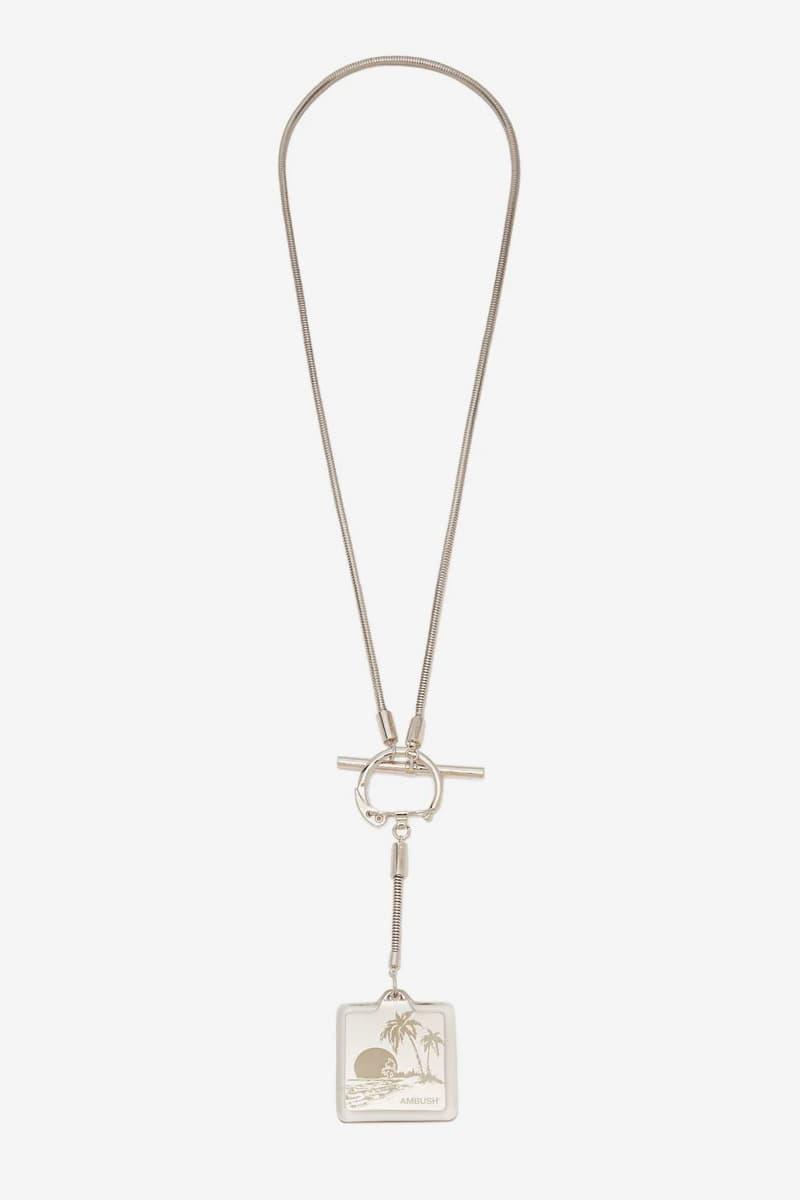 AMBUSH Souvenir Key-Ring Necklace Release Silver Yoon MATCHESFASHION.COM