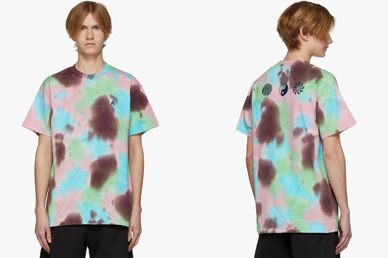 554e703d7 AMBUSH SSENSE 'A' Waves Tie-Dye T-Shirt Exclusive | HYPEBEAST