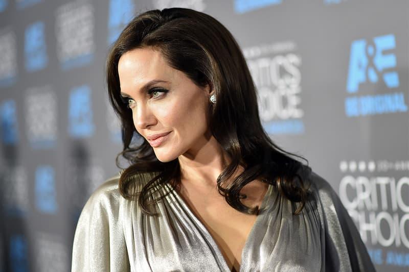 Angelina Jolie in Talks With Marvel Info cinematic universe MCU film cinema movie tomb raider