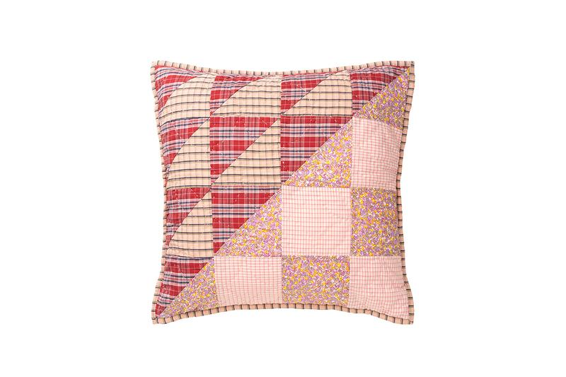 "A.P.C. ""Round 16"" Quilts Collection lookbooks musical notes Jessica Ogden Jean Touitou pillows"