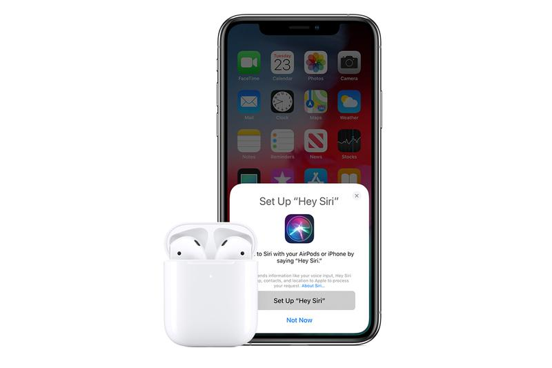 Apple Airpods Second Generation Confirmed Release Date Details Cop Purchase Buy Available Soon Stay Tuned Info Information Tech Technology 'Hey Siri' H1 Chip 50% 50 Percent Talk Time Hands-Free Wireless Charging Case California
