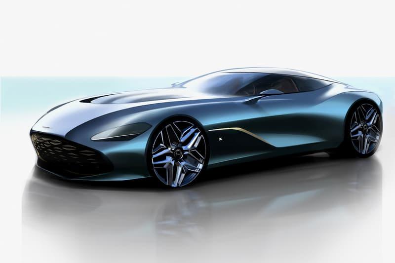Aston Martin Unveils $8M DBS GT Zagato Hypercar renders DBZ Centenary Collection DB4 GT Zagato