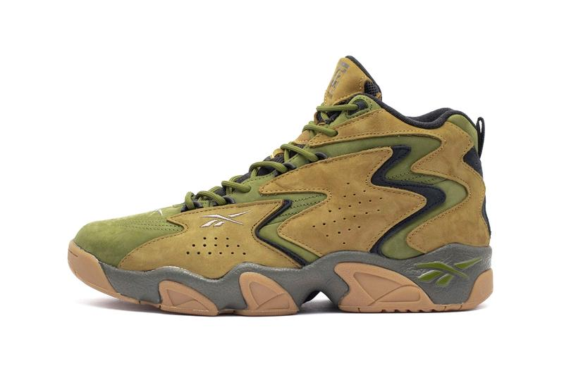 atmos Reebok Fly Mobius Release Military Black Green olive Khai