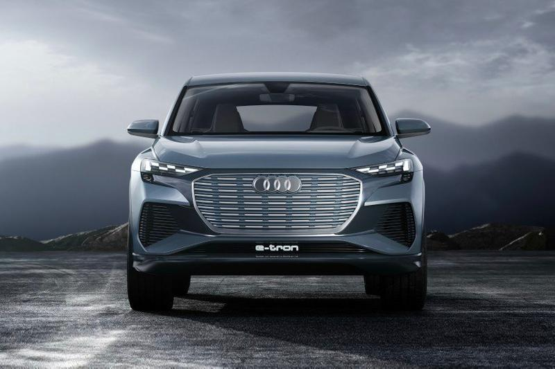 Audi Q4 Entry Level Electric Crossover Concept German Car Volkswagen Motors Geneva Auto Show