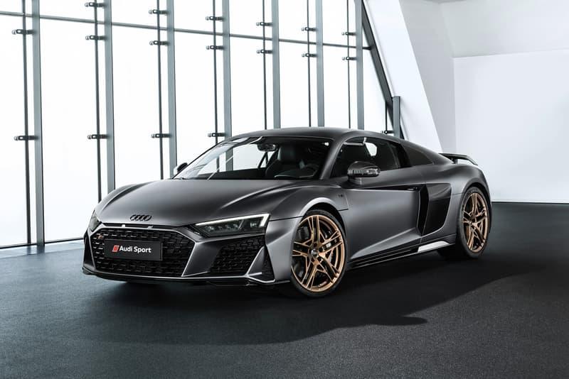 Audi R8 V10 Decennium Marks 10 Years Of V10 Power Hypebeast