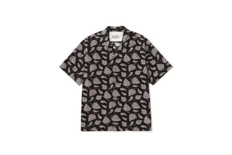 AUTO MOAI x UNITED ARROWS & SONS Collaborative Capsule shirts t-shirts hats hoodies tiger design japanese japan tokyo brand imprint release info drop date