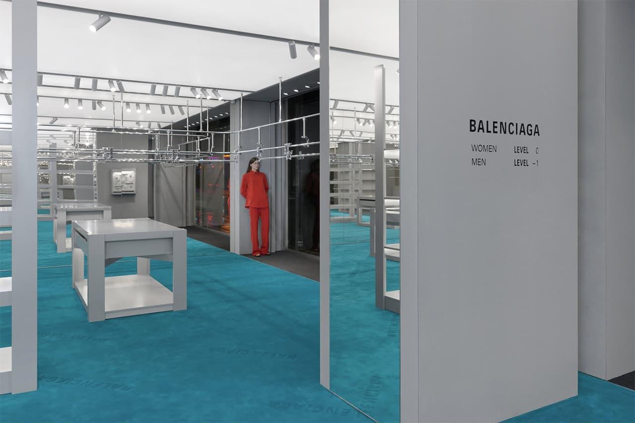 Balenciaga Opens New London Store