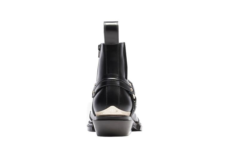 balenciaga santiag black harness booties release spring 2019