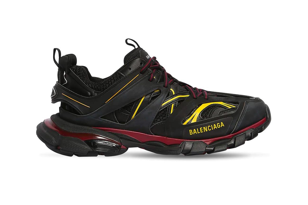 "Balenciaga Track Trainers ""Black/Yellow"