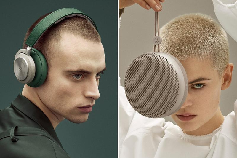 Bang and Olufsen Raf Simons Designed Collection Accessories New Earphones Speakers H9i A1 E6 Wireless Earphones Small Sound System Personal Devices Scandinavian Antwerp Six