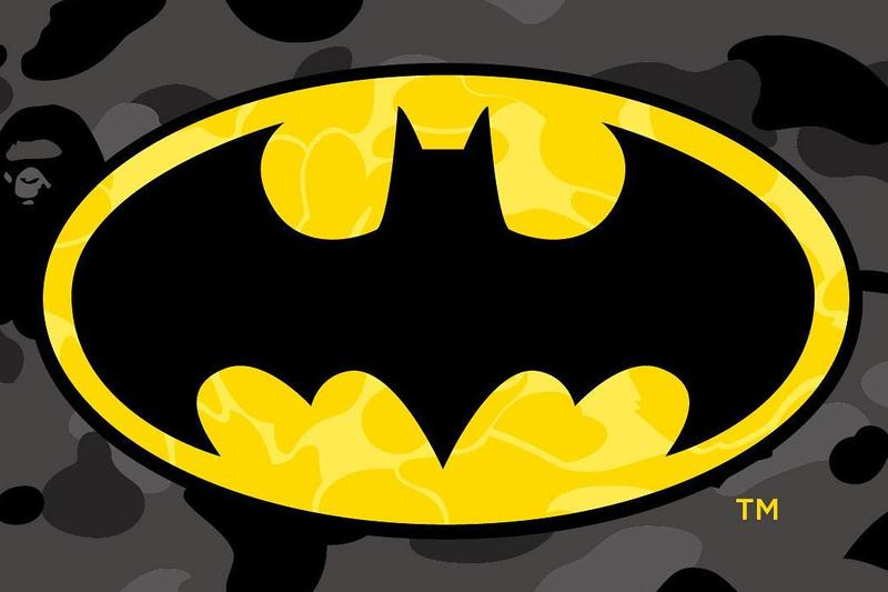 BAPE Teases New Collaboration With DC Comics superman batman the flash wonder woman