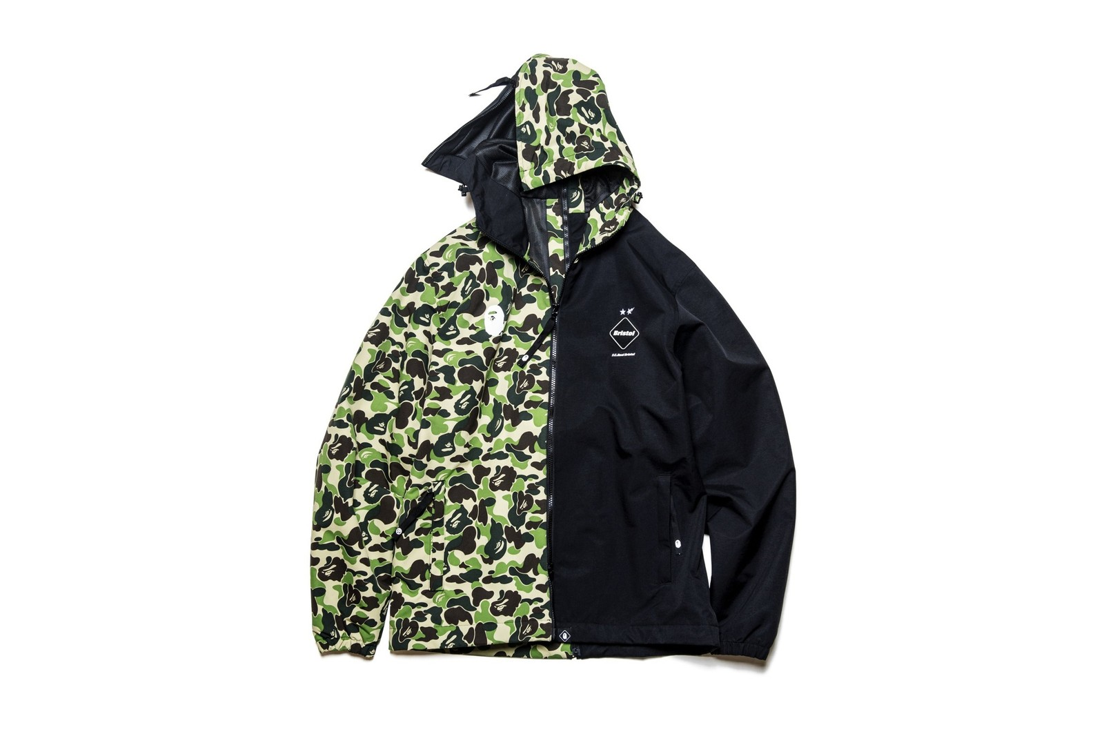 F.C.Real Bristol x BAPE SS19 Collection a bathing ape football soccer camo