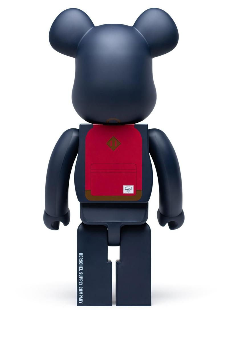 Herschel Supply BE@RBRICK Collaboration Collection Backpack Medicom Toy