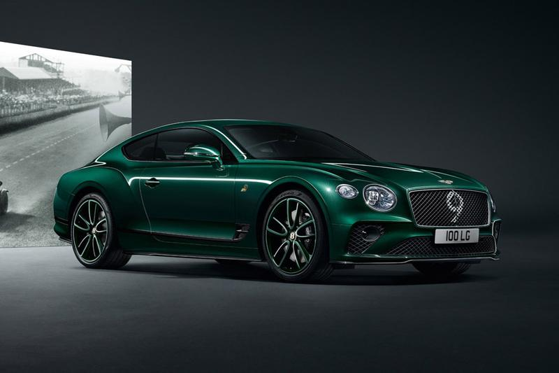 "Bentley Continental GT No. 9 Edition Le Mans Car Info Information 100th Birthday ""Ultimate Collector's Version' Sir Henry Ralph Stanley 'Tim' Birkin 4.5 Liter Supercharger 175 Brake Horsepower"