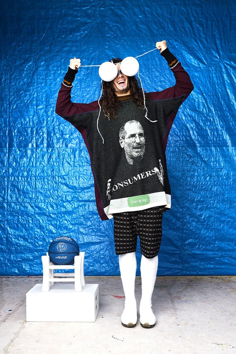 Bernhard Willhelm Fall Winter 2019 Collection Lookbook Steve Jobs Consumerism