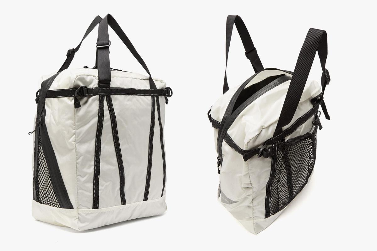 Best Spring 2019 Bags Backpacks Pouches Loewe Rick Owens Raf Simons Eastpak Off White Calvin Klein 205W39NYC Balenciaga Jil Sander Heron Preston And Wander Stone Island
