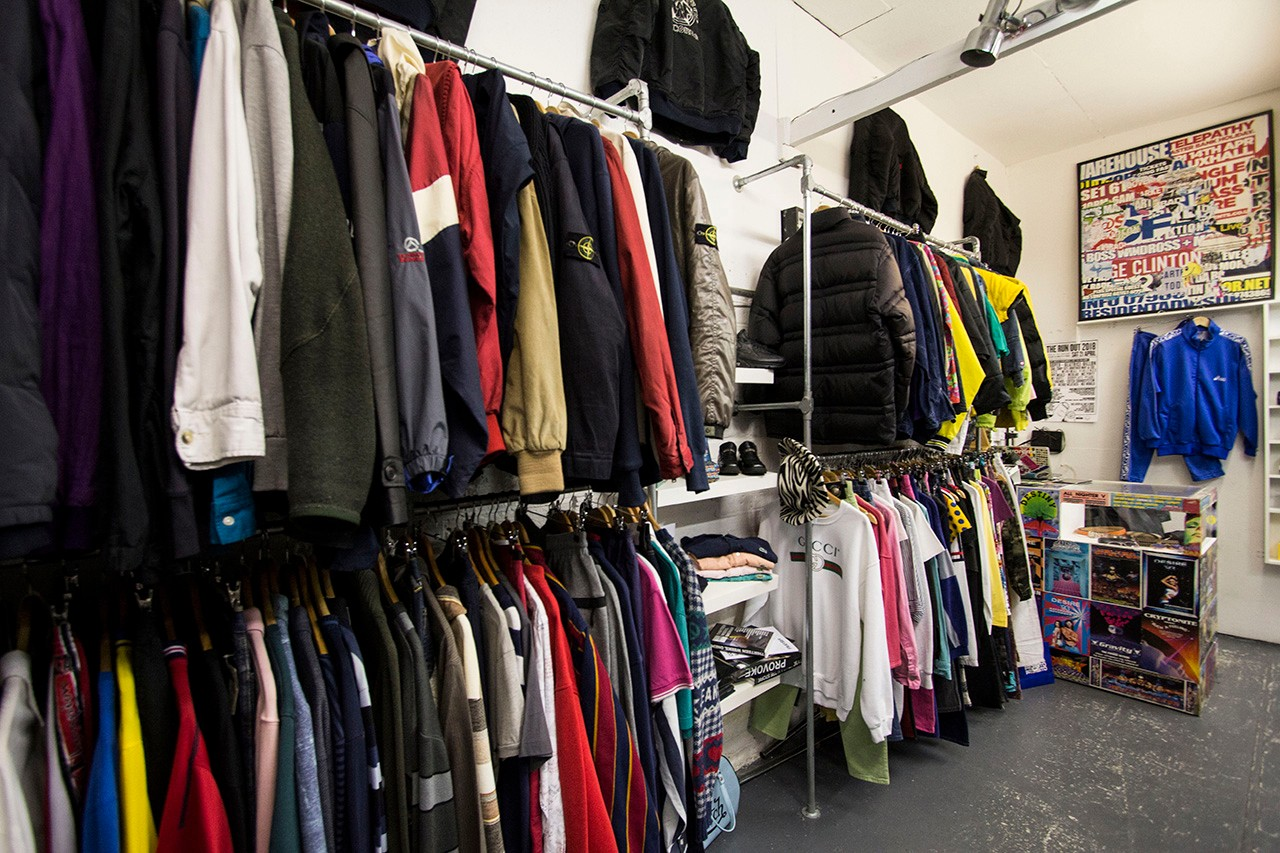 UK London Glasgow Manchester Best Streetwear Designer Vintage Stores places stone island supreme moschino comme des garcons junya watanabe jil sander dries van noten helmut lang second hand wavey garms aro archive dukes cupboard too hot limited storm in a teacup minted shop unified goods tee jerker