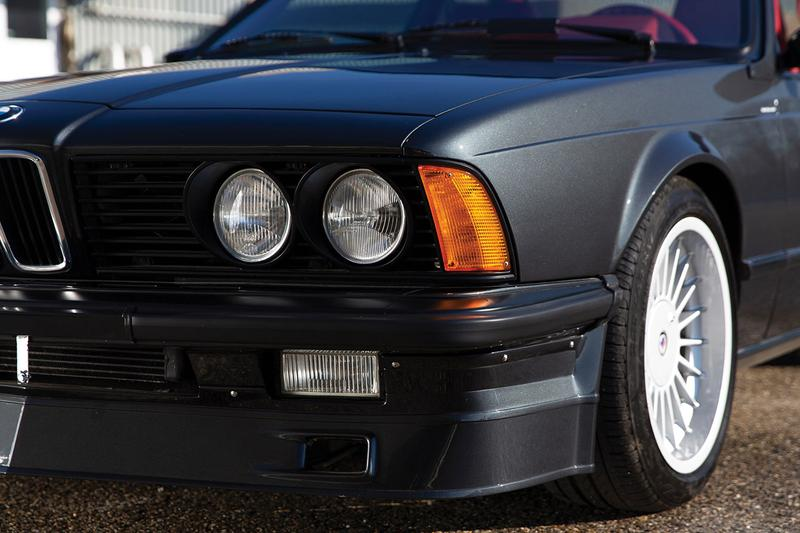 1987 BMW Alpina B7 Turbo Coupé/3 RM Sotheby's Auction 'the youngtimer collection' 320 bhp brake horsepower red interior 1 of 17 total units