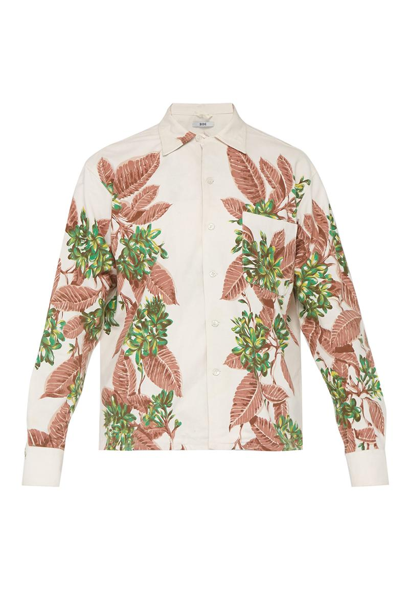 BODE SS19 Exclusives for MATCHESFASHION.COM emily new york spring summer 2019 clothing jacket shirt patchwork embroidery handmade
