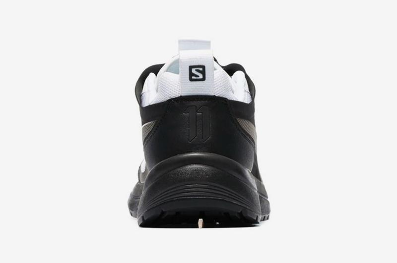 Boris Bidjan Saberi Salomon S/Lab Bamba 2 Release Low Top Black White