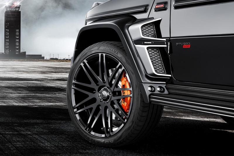 Brabus G-63 800 Widestar Car Details 800-horsepower G-Class Mercedez-Benz Modified 4x4 4.0-litre V8 789bhp