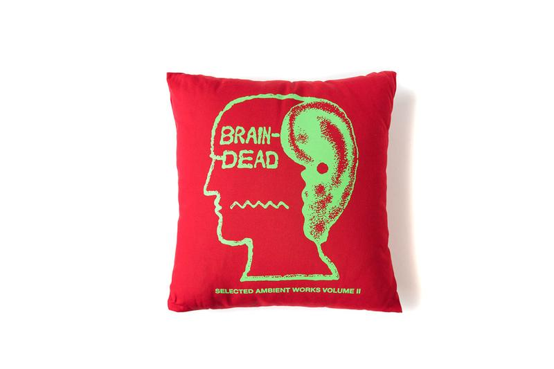 "Brain Dead's ""Home Goods"" Collection pillows bath rugs incense dog collars soap"