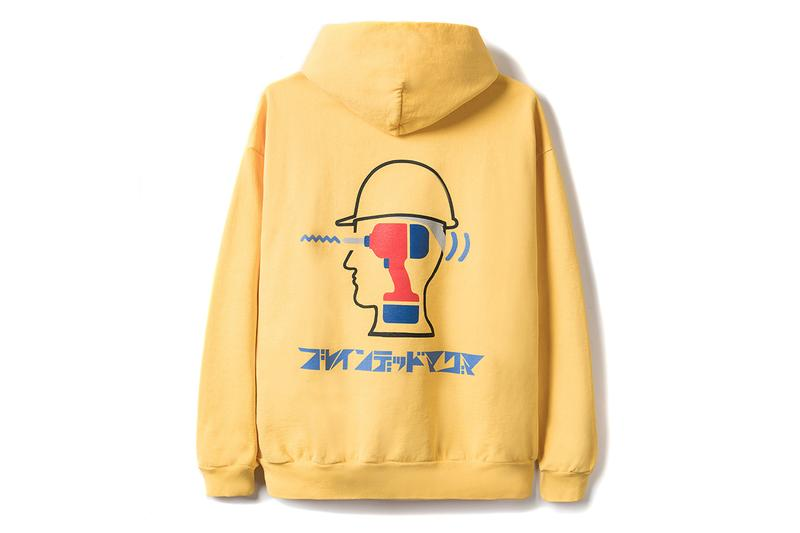 Braindead harajuku tokyo pop up exclusive collection drop release information location mexican food products carpenter trousers T shirt longsleeve sweater rug socks sweatpants