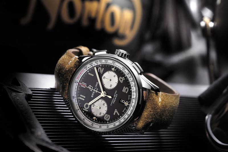 Breitling Premier Norton Edition Watch Release chronograph time