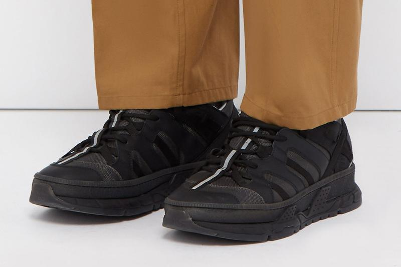 Burberry RS5 Sneaker Canvas Panel Chunky Trekking Dad Shoe Triple Black Colorway Soon Release