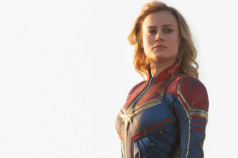 Captain Marvel 455M million dollars USD Global Opening Weekend Box Office sales tickets international stateside united states 302 153 movies Brie larson studios
