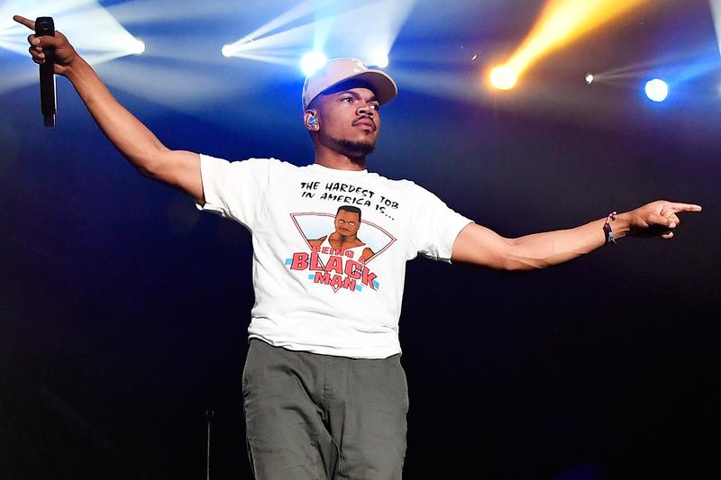 Chance the Rapper Hits 1.5 Billion Spotify Streams Platinum Coloring Book