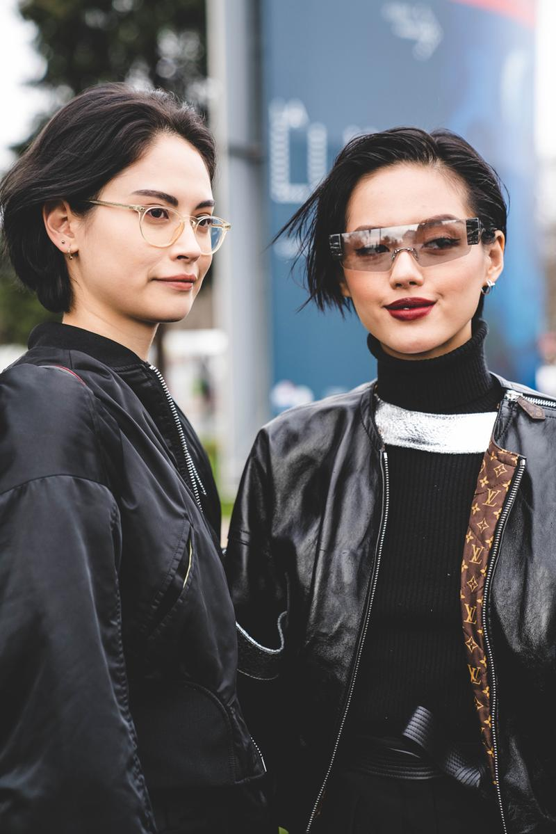 Chanel FW19 Paris Fashion Week Street Style runway collection fall winter 2019 karl lagerfeld guest attendee pfw
