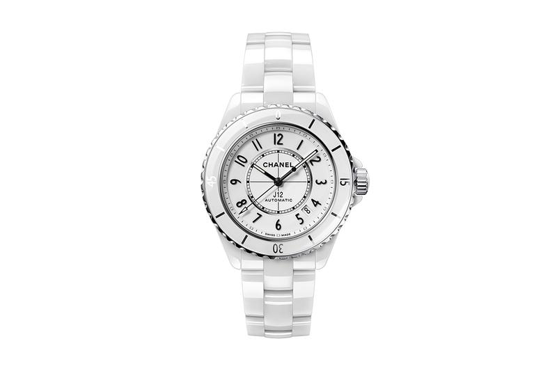 Chanel J12 Kenissi Movement Watch at Baselworld 2019 Black White Ceramic Pharrell