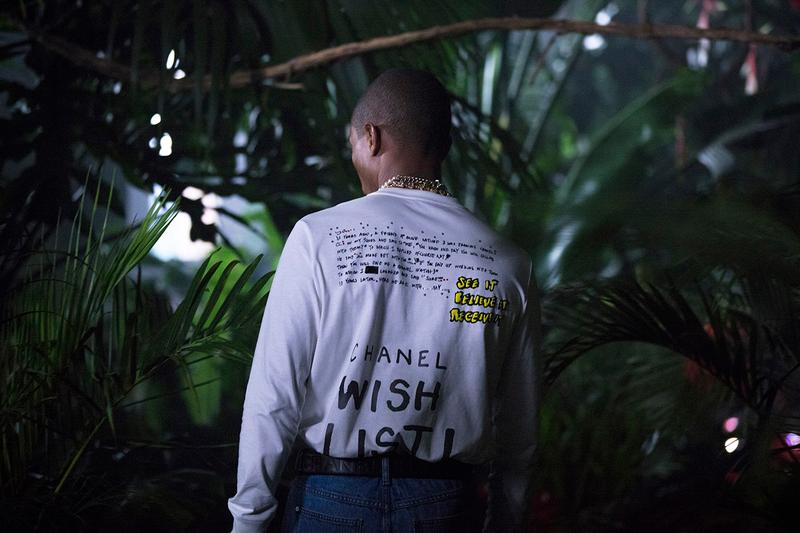 Chanel x Pharrell Collaboration 2019 Release Date Lookbook Editorial BTS Behind The Scenes Gender Fluidity Breaking Boundaries Karl Lagerfeld Capsule Collection Teaser Information Akira