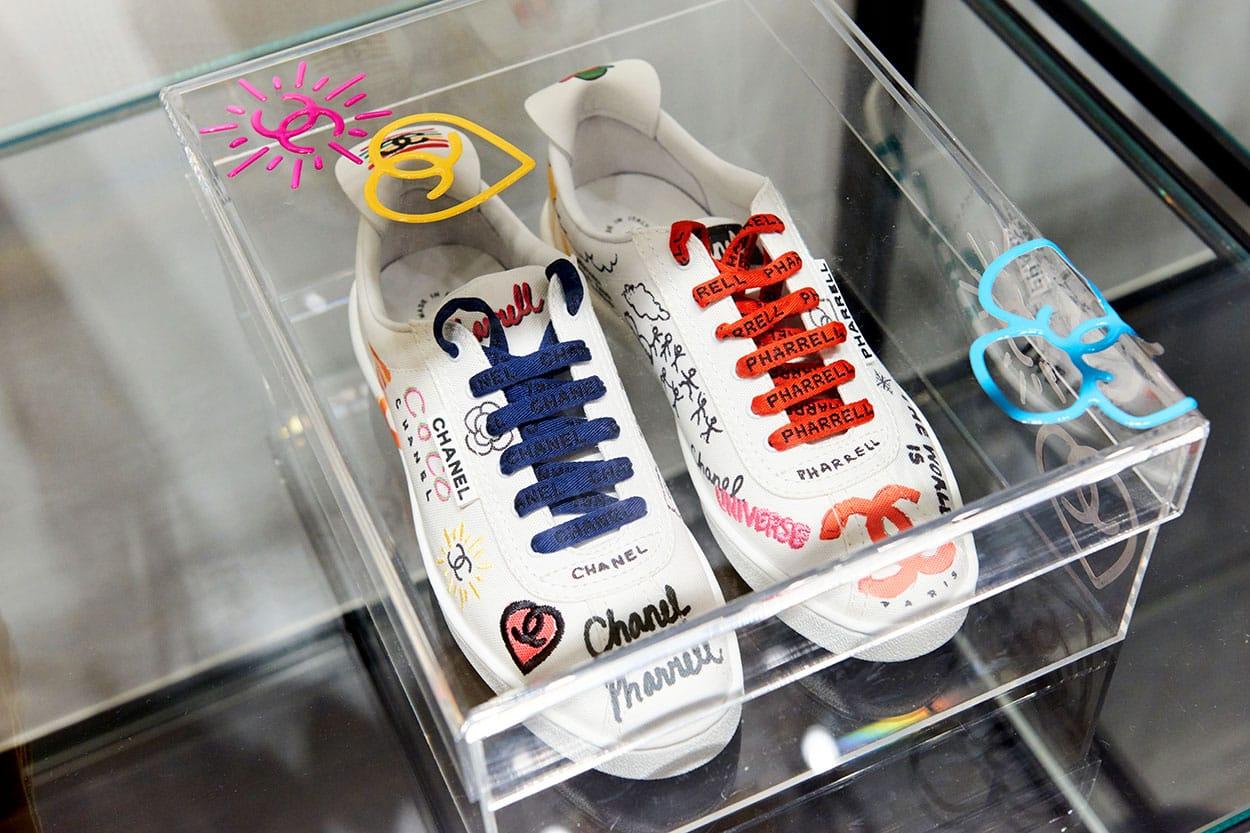 chanel pharrell williams shoes