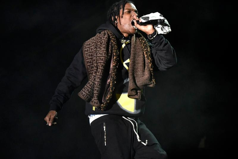 """A$AP Rocky Joins Comethazine for Official """"Walk"""" Remix"""