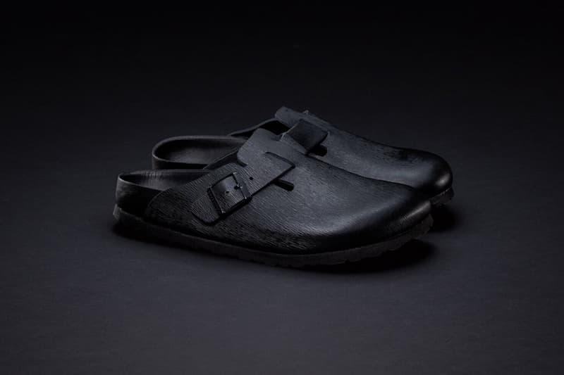 Concepts Birkenstock Black Boston Clog Collaboration Collection