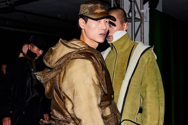 Cottweiller Seoul Fashion Week Fall Winter 2019 FW19 Back Stage BTS Behind The Scenes BFA British Fashion Association Ben Corrtell Matthew Dainty The Lost Art of Cruising Reebok