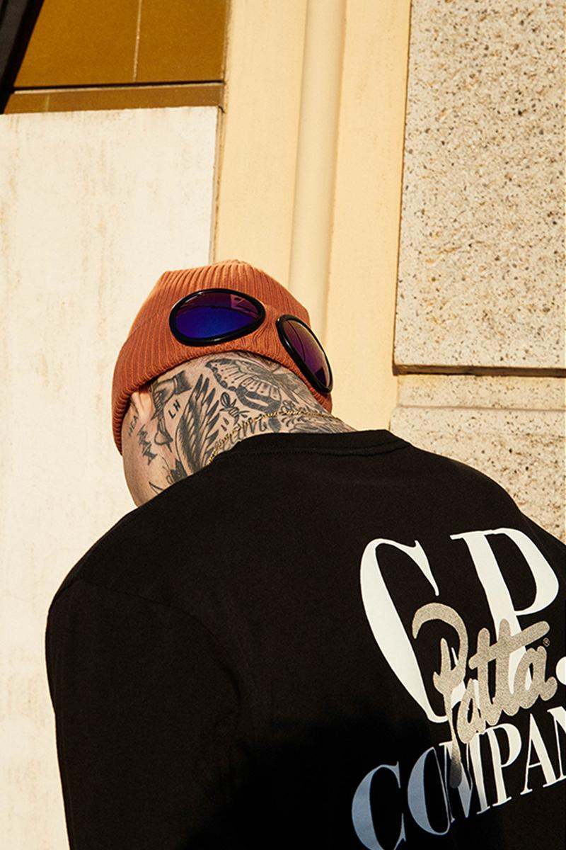 C.P. Company Patta Capsule Collection release info drop price pricing stockist beams t nylon metal jackets goggles vest graphic tees t-shirts bucket hats fleece zip ups