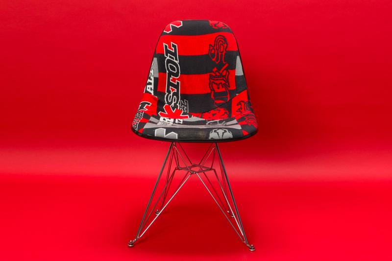 Darren Romanelli x MODERNICA x SOPH. Sideshell Chairs Interior design home accessories furniture made in california FCRB F.C.R.B Nike